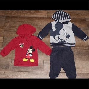 Disney Baby 6-9 Month Mickey 3 pc
